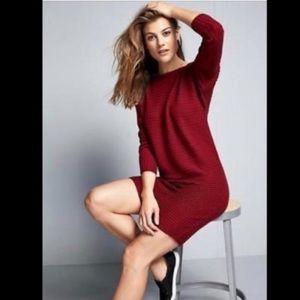 Athleta merino wool long sleeve sweater dress